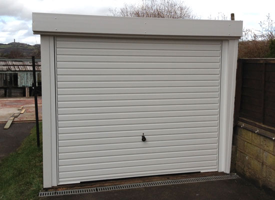 Garage revamp in Honley near Huddersfield