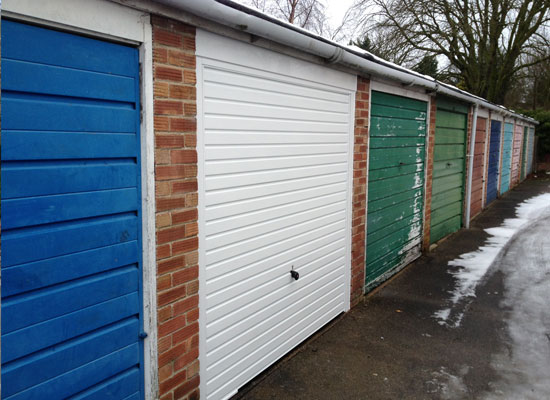 Spot the difference? Garage door revamp in Driffield