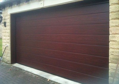 Rosewood Sectional Garage Door