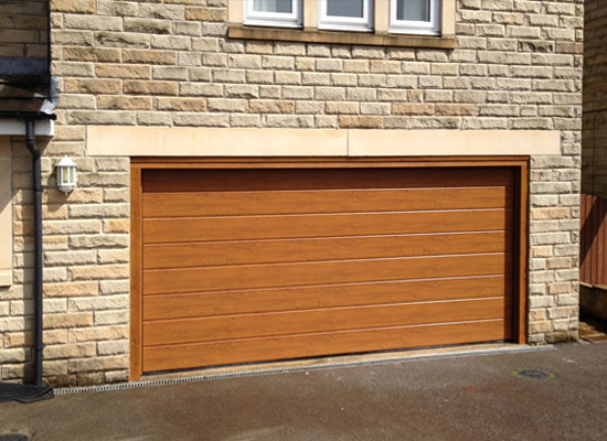 Hormann Sectional Garage Door Fitted In Penistone Protec