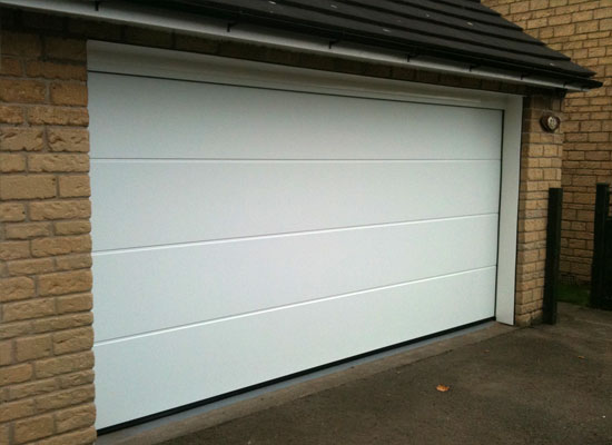 Hormann silkgrain sectional garage door