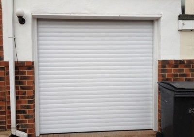 Insulated Roller Garage Door installed in Sheffield